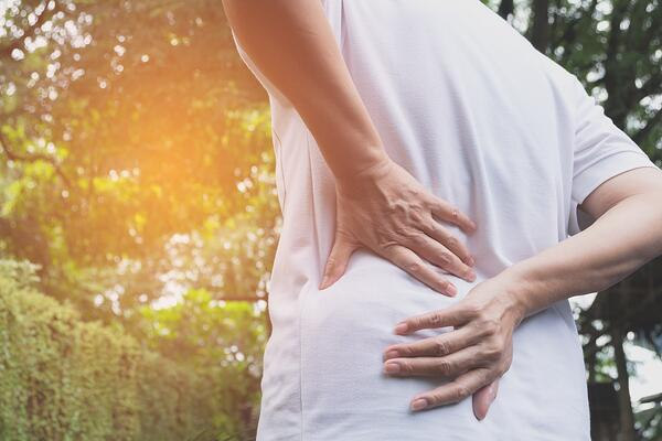 As you age, your back will be more prone to pain