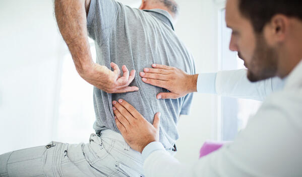 A herniated disc can cause a great deal of pain after a car accident
