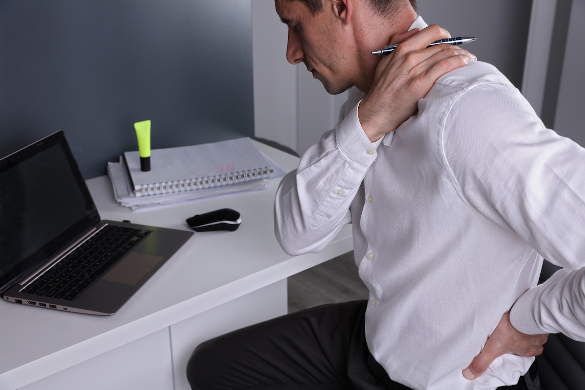 What should you do if you've injured your back in a car accident?