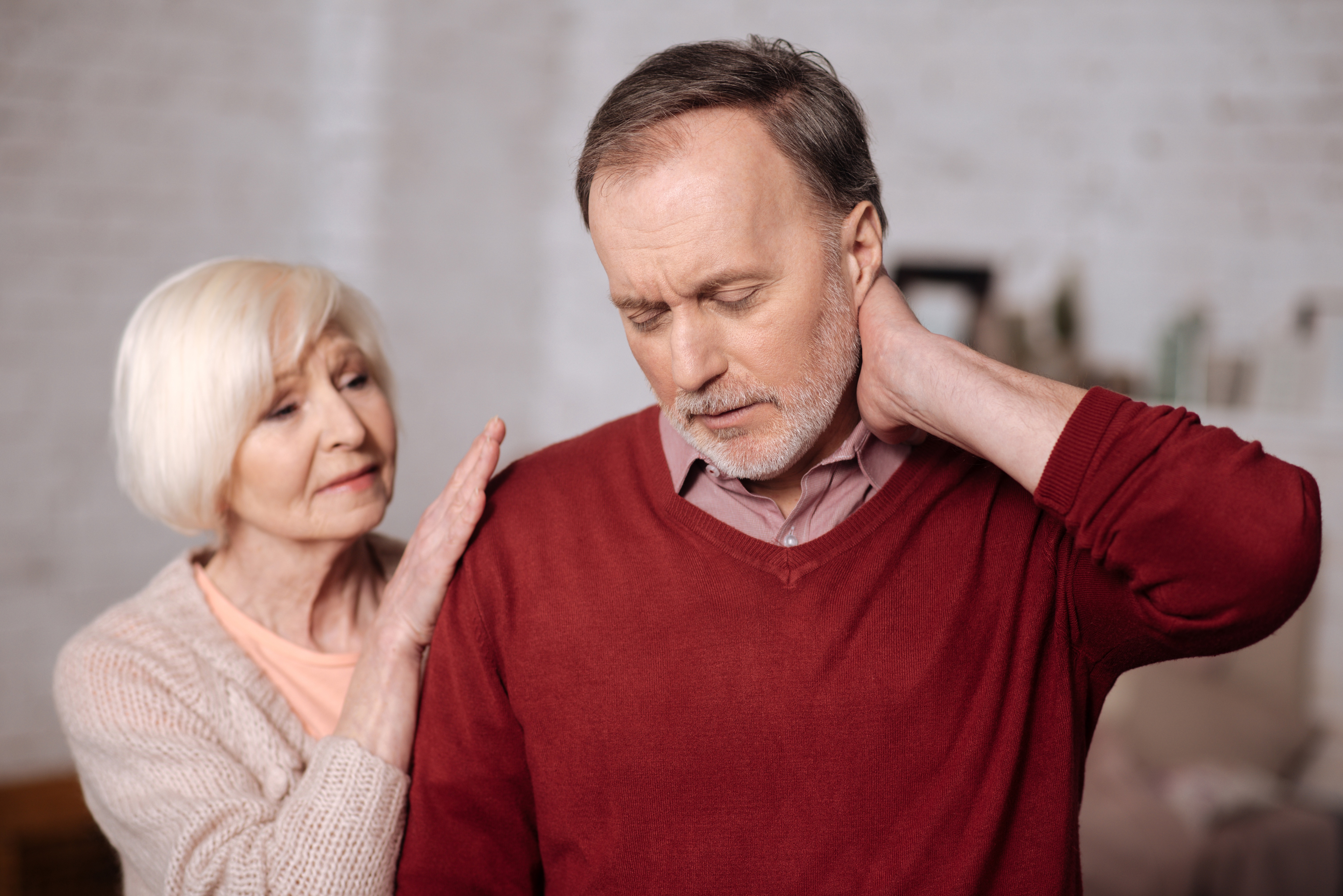 Neck Pain is commonly caused by strains and sprains